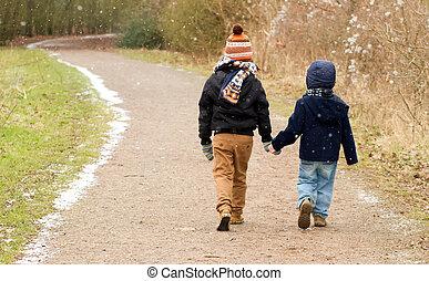 гулять пешком, братья, страна, вместе, след, вдоль