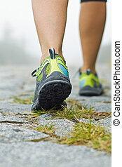 гулять пешком, упражнение