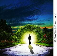 гулять пешком, backgrounds, абстрактные, духовный, eden.