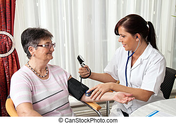 давление, attaches, пациент, кровь, врач