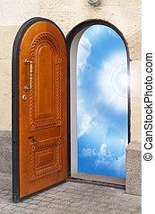 дверь, freedom.