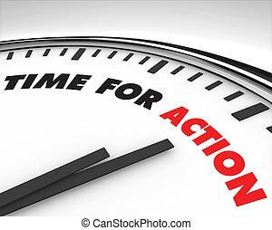 действие, время, -, часы