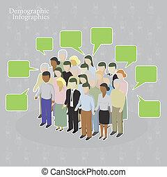 демографический, infographics