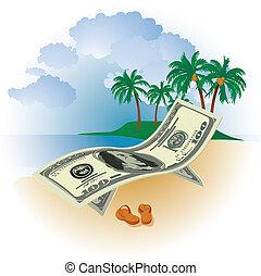 деньги, отпуск