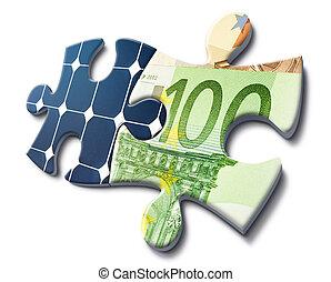 деньги, энергия, экономия, солнечный