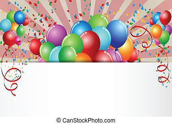день рождения, праздник