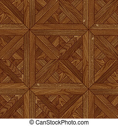 деревянный, бесшовный, текстура, пол