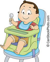 детка, мальчик, ракета-носитель, сиденье