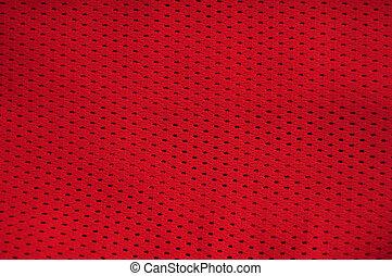 джерси, текстура, красный