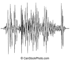 диаграмма, аудио, волна