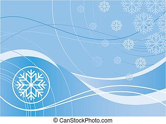 дизайн, зима