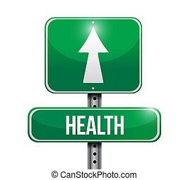 дизайн, иллюстрация, дорога, здоровье, знак