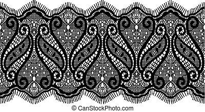 дизайн, шнурок, embroidered