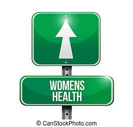дизайн, womens, иллюстрация, дорога, здоровье, знак