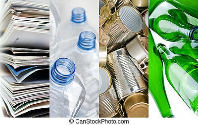для вторичной переработки, materials