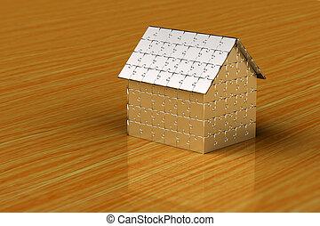дом, головоломка