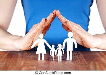 дом, семья, руки