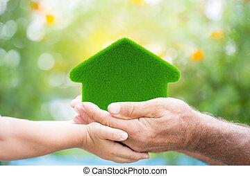 дом, eco-friendly