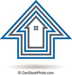 дом, outlines, логотип