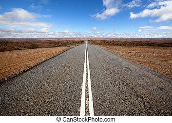 дорога, открытый, малонаселенный