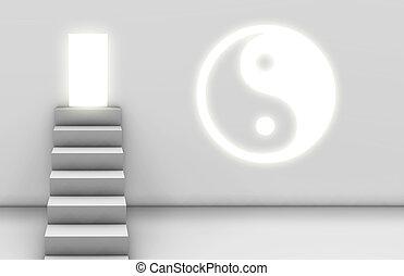 дорожка, просветление