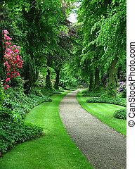 дорожка, сад