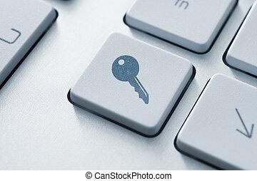доступ, кнопка