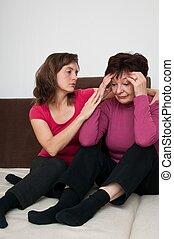 дочь, -, мама, старшая, regrets, депрессия