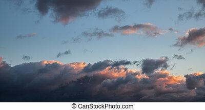 драматичный, cloudscape, площадь