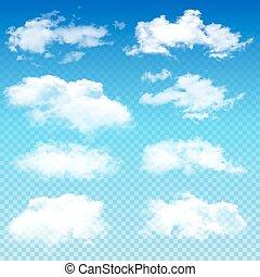 другой, задавать, прозрачный, clouds