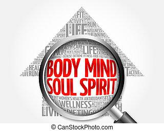 дух, облако, тело, разум, душа, стрела, слово