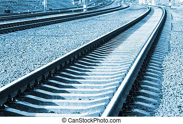 железная дорога, перспективный