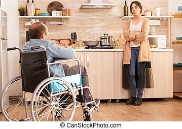 жена, кухня, раздраженный