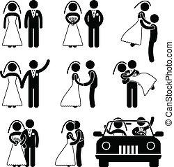 жених, невеста, брак, создание семьи, свадьба