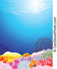 жизнь, море, задний план