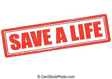 жизнь, спасти