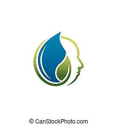 забота, логотип, природа, здоровье