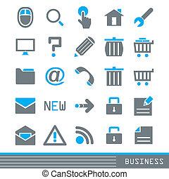 задавать, бизнес, icons
