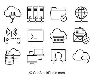 задавать, сетей, icons