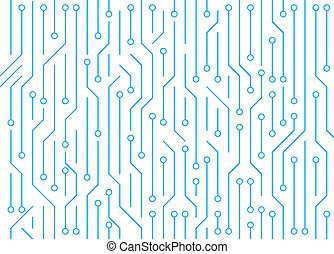 задний план, шаблон, абстрактные, background., доска, схема, high-tech, белый, технологии, texture., illustration.