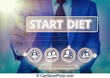 заметка, elements., начало, письмо, питание, мода, практика, информация, технологии, принимать пищу, цифровой, регулируется, infographic, бизнес, showcasing, diet., показ, фото, сеть, контролируемый