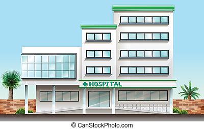 здание, больница