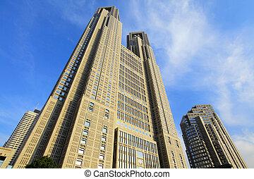 здание, высокий