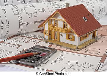 здание, дом, план