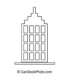 здание, значок