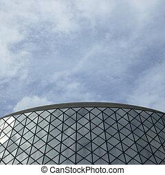 здание, стакан