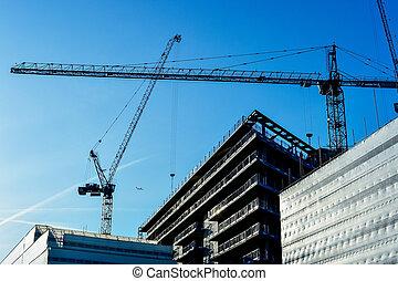 здание, строительство, high-rise