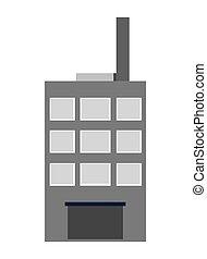 здание, contsrction, дизайн, значок