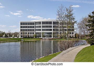 здание, suburbs, офис