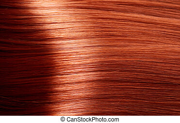 здоровый, коричневый, волосы